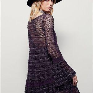 Hippie chic boho dress